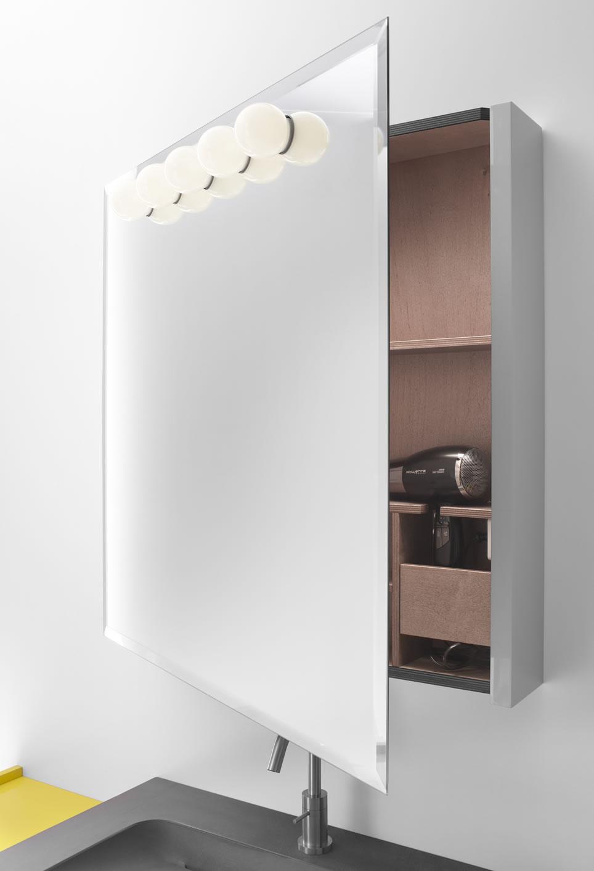 Espejo de ba o 12 propuestas itaca design ba os - Luces espejo bano ...