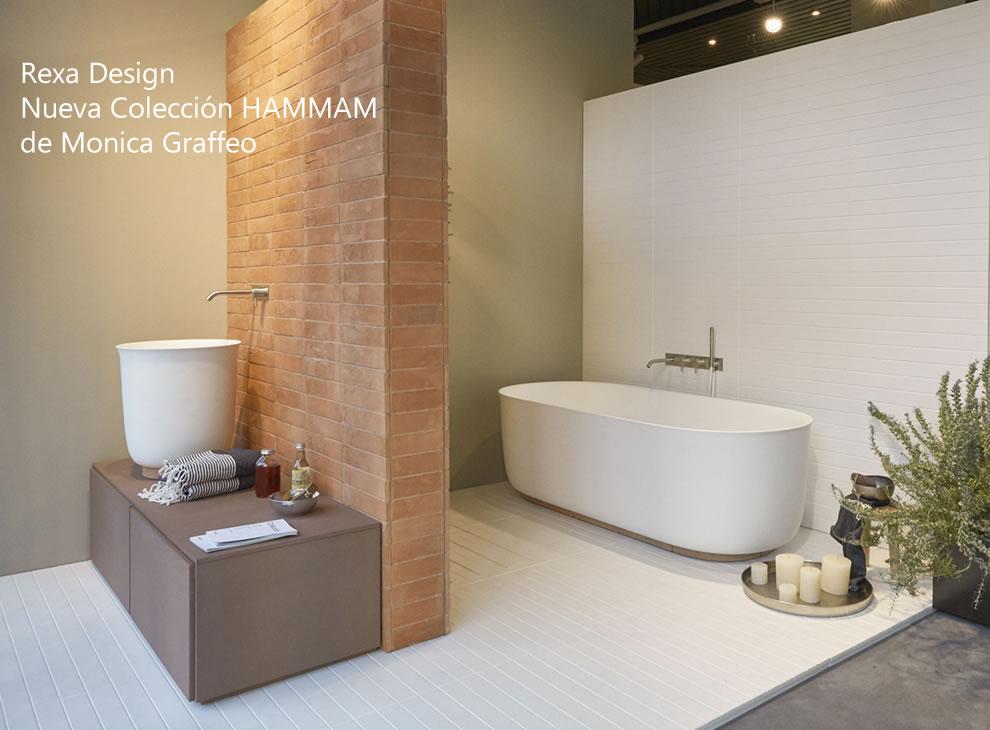 lavabo y bañera hammam de rexa design