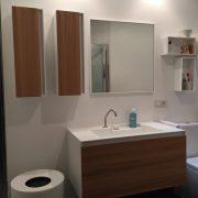 Mueble de baño en Corian, Rexa Design