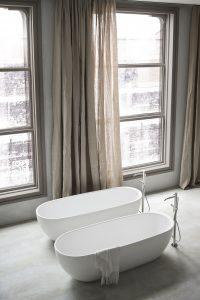 bañeras exentas HOLE de Rexa