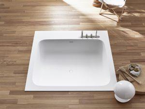 Bañera de encastre en suelo R1