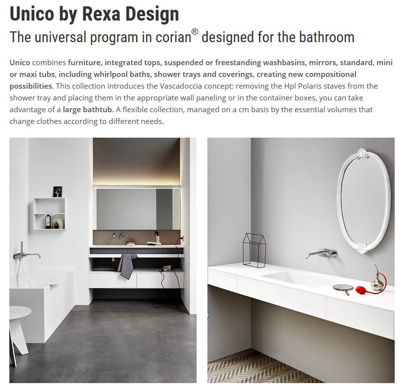 Rexa Design UNICO CORIAN