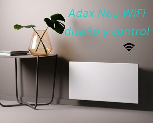 Radiador inteligente ADAX WIFI