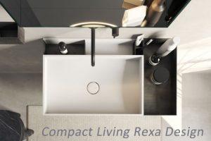 Compact Living Mueble Lavabo Corian
