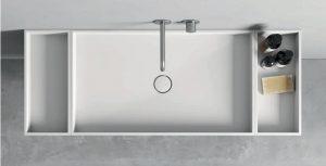 Encimera total White con compartimentos de Rexa Design