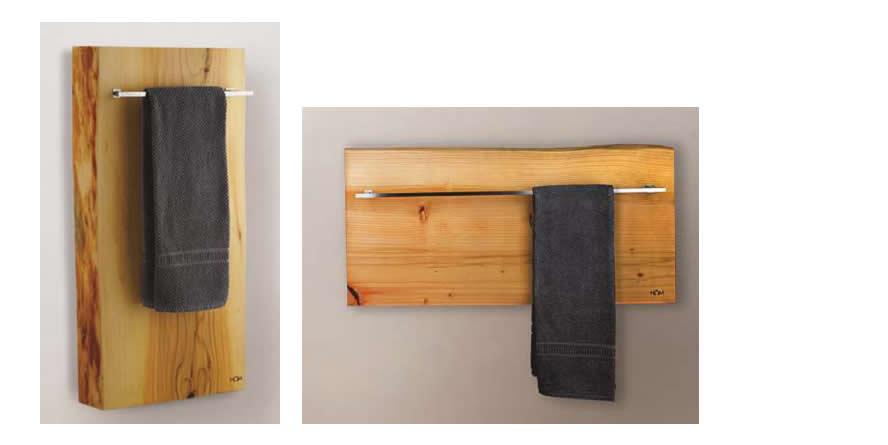 XILO 200 radiador madera toallero