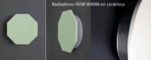 Hom Warm radiadores en cerámica